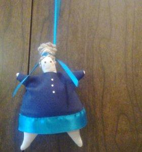Интерьерная кукла Тильда текстильная