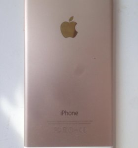 Айфон 6 золотой(16гигобайт )