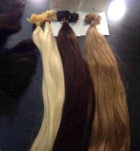 Европейские волосы на капсулах