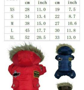 одежда для собаки зима