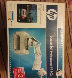 Принтер LaserJet Pro P1102