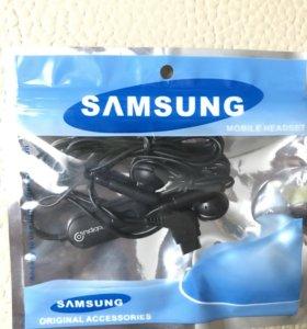 Гарнитура с микрофоном для телефонов Samsung