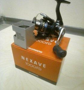 Катушка shimano nexave 1000 FD + подарок