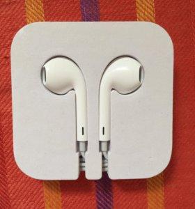 Новые оригинальные наушники Apple EarPods от iPod