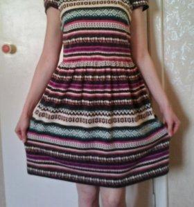 Теплое платье