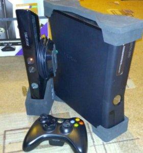 XBOX 360 (250GB) + KINECT + 6 игр