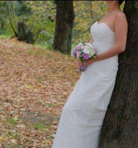 Свадебное платье,свадебные украшения
