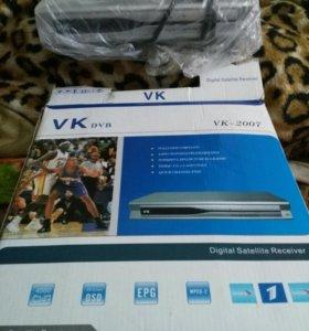 Цифровая приставка DVB-VK2007
