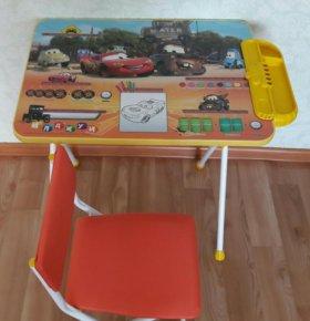 Детский стол, стул новый