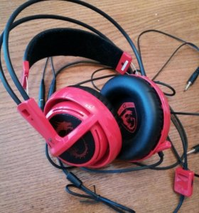 Игровые наушники MSI GAMING SteelSeries Siberia V2