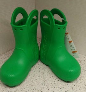 Новые crocs сапоги c7