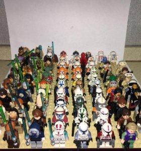 Лего минифигурки звёздные войны Lego