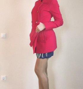 Пальто шерсть на шёлковой подкладке. 🍒