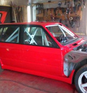 Покраска автомобиля,малярка, кузовной ремонт.