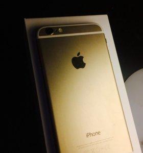 Продам IPhone 6 gold 16 g