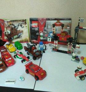 Наборы Лего Lego тачки cars 8206, 8201 и др