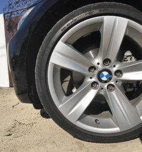 Диски с резиной R18 BMW 3 5 7