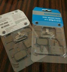 Тормозные колодки Shimano B01S новые