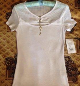 Блузка/футболка белая (НОВАЯ)