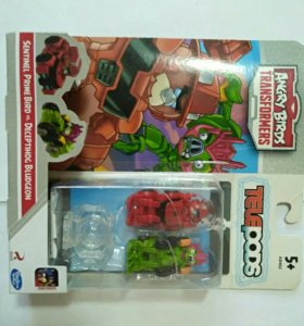 Angry birds transformers telepods