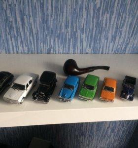 Коллекция моделей автомобилей СССР