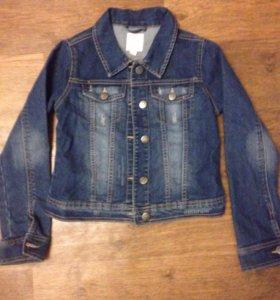 Куртка джинсовая 9-12 лет