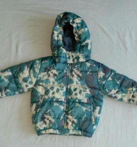 Куртка теплая(осень-зима-весна)