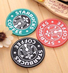 Силиконовые подставки от Starbucks