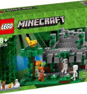 Конструктор lego Minecraft 21132 Храм в джунглях