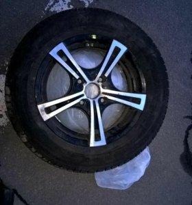 Диски резина колеса 4х114.3 р15 r15