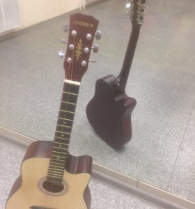 Новая акустическая гитара.