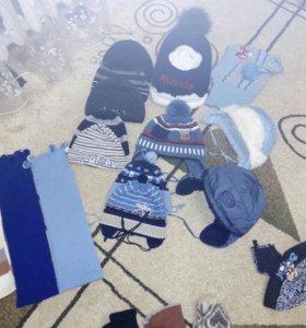 Детские шапочки и шарфики