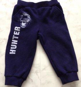 Теплые брюки 80-86