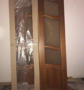 Двери 2.10х1.10 2шт