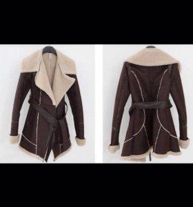 Замша искусственная,пальто