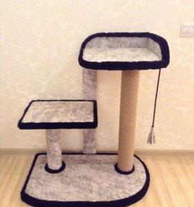 Новый игровой комплекс для кошек (когтеточка)
