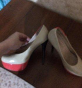 Туфли 2 раза одеты