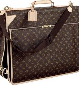 Луи Витон чемодан, чехол, сумка с вешалками