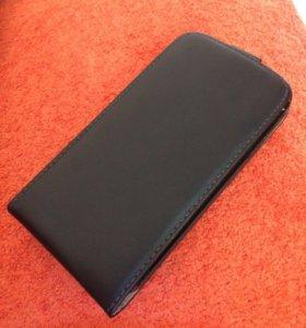 Чехол кожаный Samsung galaxy s4
