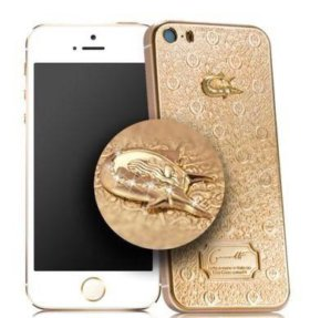 Caviar iPhone 5s 64 Гб, кавиар айфон 5с золото