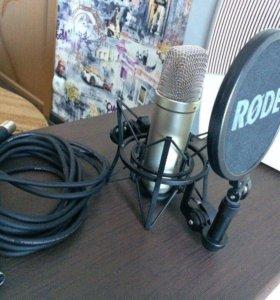 Конденсаторный микрофон Rode NT 1- A MIC