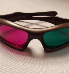 анаглифные стерео очки