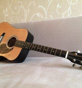 Акустическая гитара Fender Squier SA-105 и чехол
