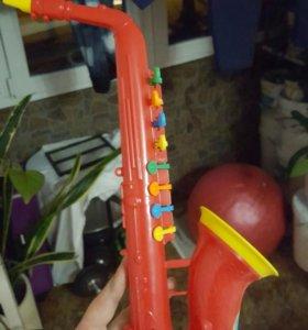 Детский саксофон