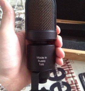 Микрофон Октава МК-105 и паук