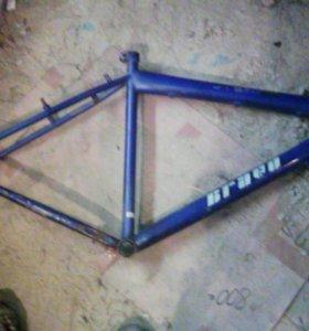 Рама велосипедная 160-180 см