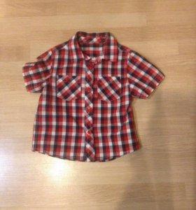 Новая рубашка Mothercare 86 размер