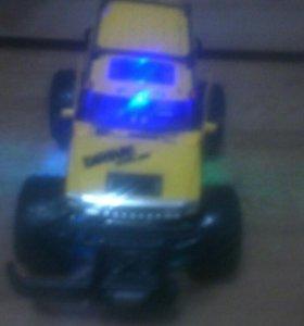 Машина на пульте управления
