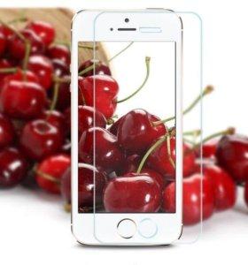 Новое Защитное стекло на iphone 5/5s/SE