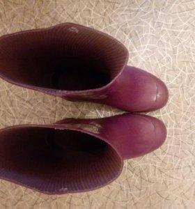 Сапоги резиновые размер 29-30